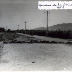 Fotografía antigua: FOTOGRAFIA=CAMINO DE LA MISERICORDIA1959-FOTOGRAFO A.F.CASAMAYOR,CALLE MURO DE SAN JULIAN Nº4-MALAGA. Lote 177697048