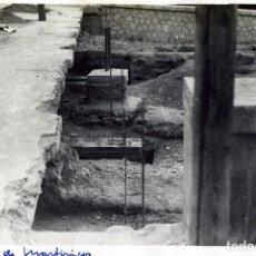 Fotografía antigua: FOTOGRAFIA=OBRAS PUENTE DE MARTIRICOS-MALAGA=NO HAY DATOS DEL FOTOGRAFO .. Lote 177704799