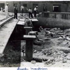 Fotografía antigua: FOTOGRAFIA=OBRAS PUENTE DE MARTIRICOS-MALAGA=NO HAY DATOS DEL FOTOGRAFO .. Lote 177705022
