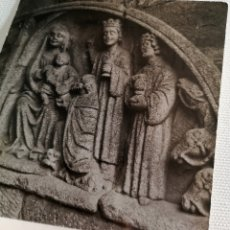 Fotografía antigua: FOTOGRAFÍA ANTIGUA RUINAS DE SANTO DOMINGO EN PONTEVEDRA GALICIA. Lote 177733129