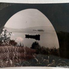 Fotografía antigua: FOTOGRAFÍA ANTIGUA ISLA DE SAN SIMÓN RÍA DE PONTEVEDRA GALICIA. Lote 177733743