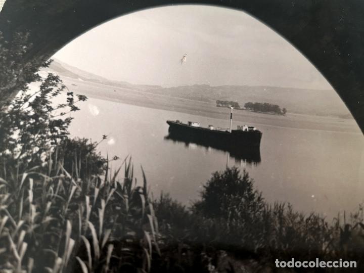 Fotografía antigua: FOTOGRAFÍA ANTIGUA ISLA DE SAN SIMÓN RÍA DE PONTEVEDRA GALICIA - Foto 3 - 177733743