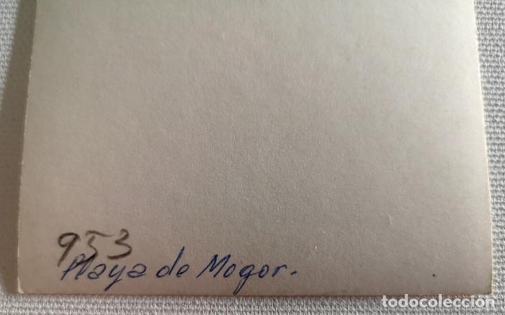 Fotografía antigua: FOTOGRAFÍA ANTIGUA DE LA PLAYA DE MOGOR MARÍN PONTEVEDRA - Foto 2 - 177737870