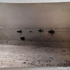 Fotografía antigua: FOTOGRAFÍA ANTIGUA PLAYA DE SAMIL EN VIGO GALICIA. Lote 177739274
