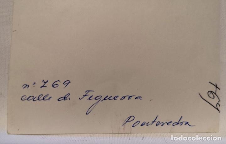Fotografía antigua: FOTOGRAFÍA CALLE DE FIGUEROA EN PONTEVEDRA GALICIA - Foto 2 - 177745874