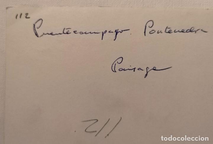 Fotografía antigua: FOTOGRAFÍA ANTIGUA CARRO DE BUEYES EN PONTESAMPAIO PONTEVEDRA - Foto 2 - 177746124