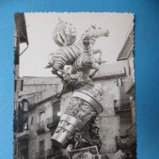 Fotografía antigua: VALENCIA - FALLAS NA JORDANA- FOTOGRAFICA - AÑOS 1900. Lote 177816815