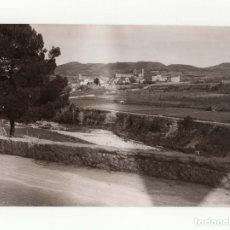 Fotografía antigua: TARRAGONA.- MONASTERIO SANTA CREUS. FOT. MARQUÉS DE SANTA MARIA DEL VILLAR.12,5X18.. Lote 178008455