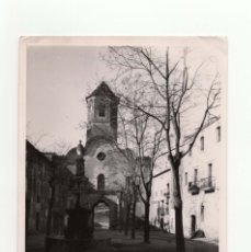 Fotografía antigua: TARRAGONA.- MONASTERIO SANTA CREUS. FOT. MARQUÉS DE SANTA MARIA DEL VILLAR.12,5X18.. Lote 178019833
