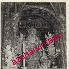 Fotografía antigua: SEMANA SANTA SEVILLA, ANTIGUA FOTOGRAFIA ESPERANZA MACARENA, 75X105MM. Lote 178057960