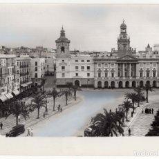 Fotografía antigua: CÁDIZ.- PLAZA DE SAN JUAN DE DIOS. 24X18.FOT. SOBRINOS DE L. ROISIN.. Lote 178198636