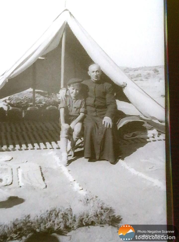 Fotografía antigua: 34 cliches originales de flechas marchando hacia el campamento en tren y del campamento años 40 - Foto 8 - 178221045