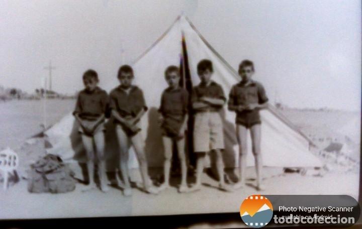 Fotografía antigua: 34 cliches originales de flechas marchando hacia el campamento en tren y del campamento años 40 - Foto 11 - 178221045