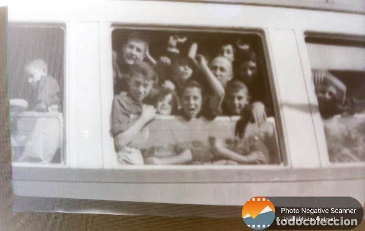 Fotografía antigua: 34 cliches originales de flechas marchando hacia el campamento en tren y del campamento años 40 - Foto 12 - 178221045