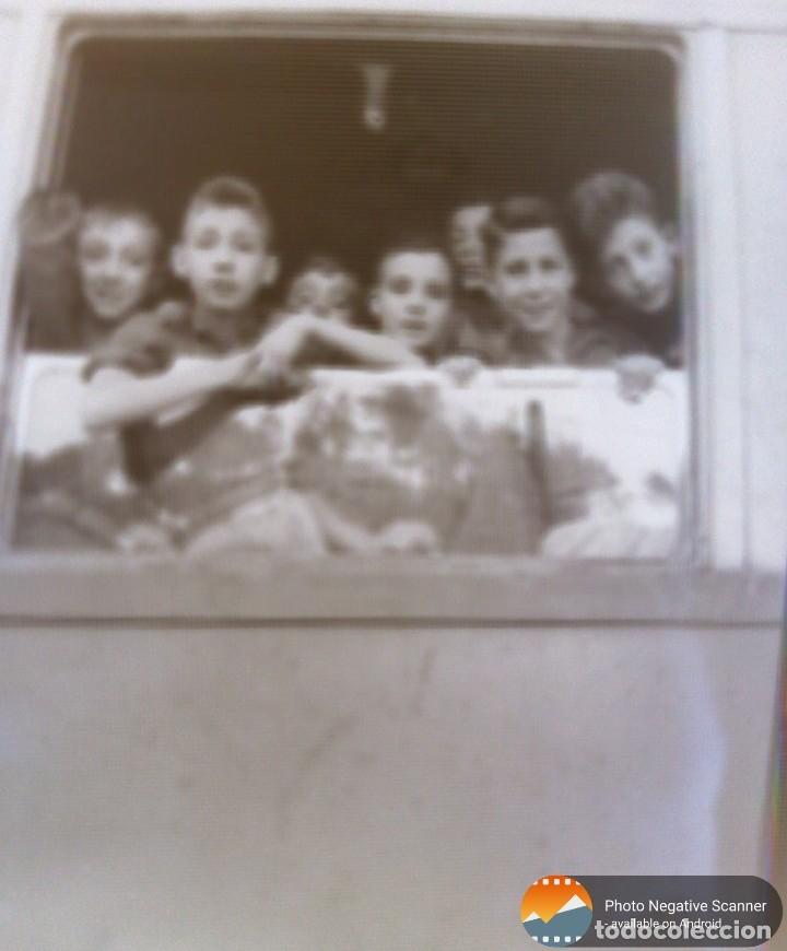 Fotografía antigua: 34 cliches originales de flechas marchando hacia el campamento en tren y del campamento años 40 - Foto 13 - 178221045