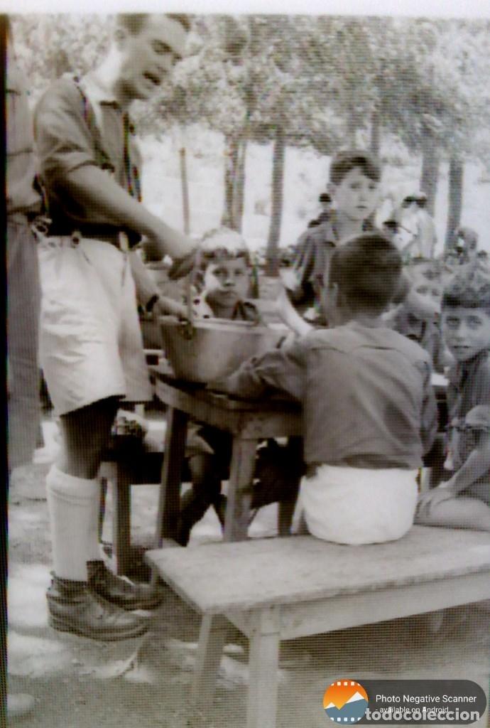 Fotografía antigua: 34 cliches originales de flechas marchando hacia el campamento en tren y del campamento años 40 - Foto 15 - 178221045