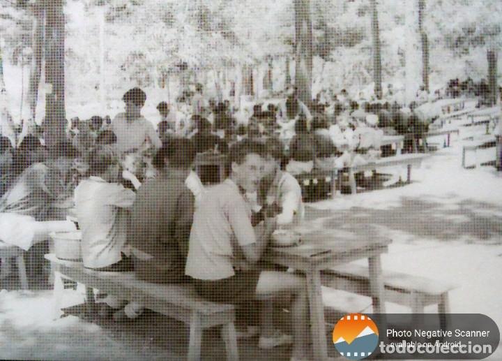 Fotografía antigua: 34 cliches originales de flechas marchando hacia el campamento en tren y del campamento años 40 - Foto 16 - 178221045