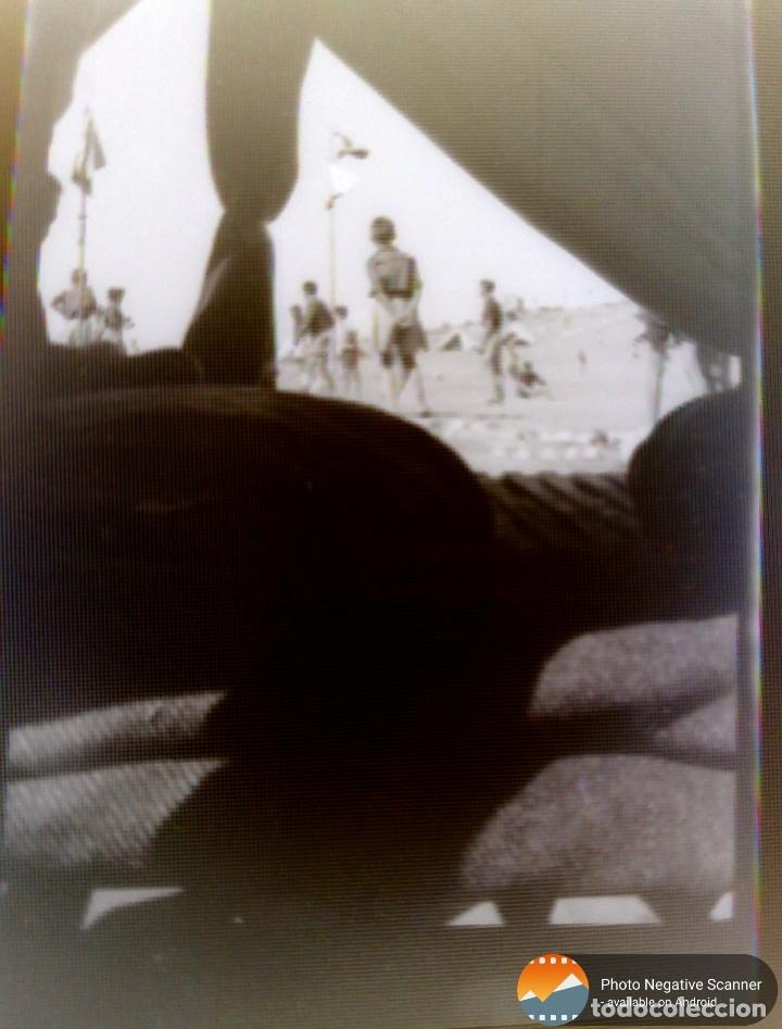 Fotografía antigua: 34 cliches originales de flechas marchando hacia el campamento en tren y del campamento años 40 - Foto 24 - 178221045