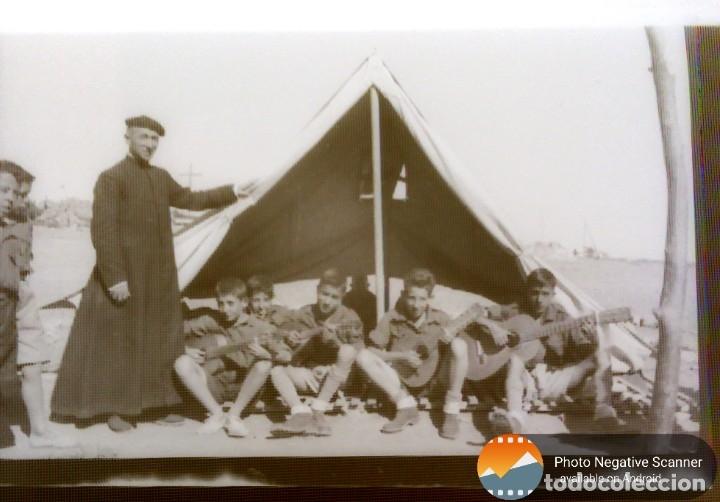 Fotografía antigua: 34 cliches originales de flechas marchando hacia el campamento en tren y del campamento años 40 - Foto 27 - 178221045