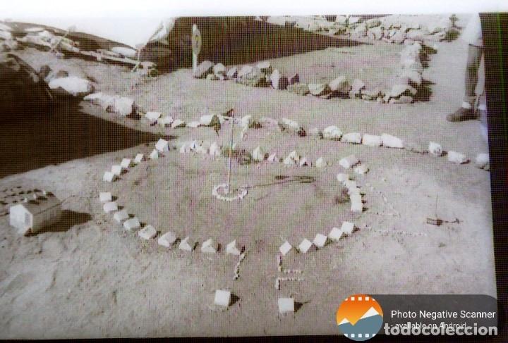 Fotografía antigua: 34 cliches originales de flechas marchando hacia el campamento en tren y del campamento años 40 - Foto 29 - 178221045