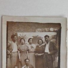 Fotografía antigua: MINUTERO DE FOTÓGRAFO CALLEJERO DE FAMILIA. AÑOS 40. Lote 178324452