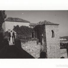 Fotografía antigua: MÁLAGA.- VISTA DE LA ALCAZABA. FOTO GUERRERO. 12X18.. Lote 178376391