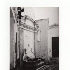 Fotografía antigua: MÁLAGA.- LA PUENTE DE LOS CRISTOS. FOTO GUERRERO. 12X18.. Lote 178377472
