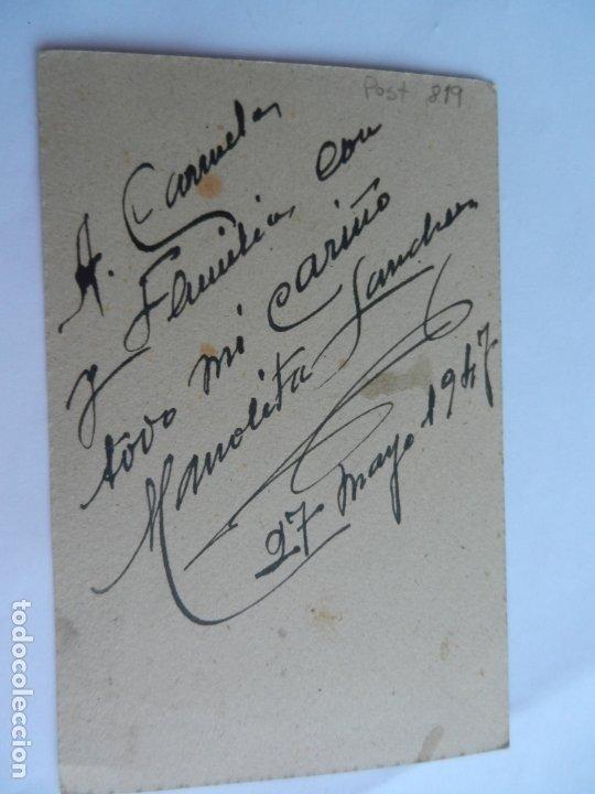 Fotografía antigua: FOTOGRAFÍA CON MARCO DE ESTUDIO ARENAS SEVILLA - NIÑA DE PRIMERA COMUNIÓN - AÑO 1945. - Foto 2 - 178053470
