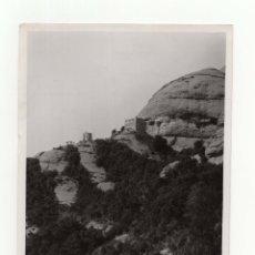 Fotografía antigua: BARCELONA.- MONTSERRAT Y ERMITA SAN JERÓNIMO.- MARQUÉS DE SANTA MARIA DEL VILLAR. 18X13.. Lote 178448015