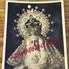 Fotografía antigua: SEMANA SANTA SEVILLA, ANTIGUA FOTOGRAFIA VIRGEN DE GRACIA Y ESPERANZA, SAN ROQUE,60X90MM. Lote 178595631