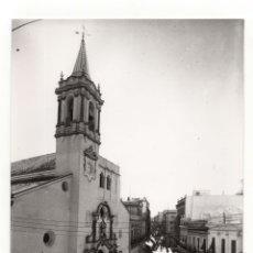 Fotografía antigua: HUELVA.- IGLESIA DE LA CONCEPCIÓN. FOTO SOBRINO L.ROISIN. 24X17,5.. Lote 178663972
