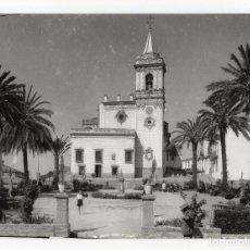Fotografía antigua: HUELVA.- PLAZA DE SAN PEDRO. FOTO SOBRINO L.ROISIN. 24X17,5.. Lote 178664421