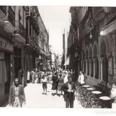 Fotografía antigua: HUELVA.- CALLE FOTO SOBRINO L.ROISIN. 24X17,5.. Lote 178669173