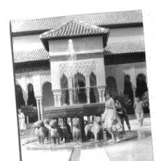 Fotografía antigua: ANTIGUA FOTOGRAFIA. 1964. GRANADA. ALHAMBRA. 7 X 10CM. Lote 178751838