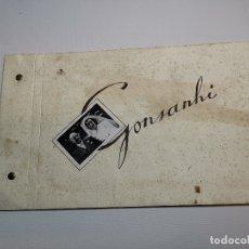 Fotografía antigua: ALBUM 3 FOTOGRAFIAS 17 X 11 ENLACE MATRIMONIAL / BODA - FOT. GONSANHI - AÑOS 40 - . Lote 178856510