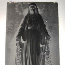 Fotografía antigua: BARCELONA MILAGROSA ANTIGUO CLICHE NEGATIVO EN CRISTAL. Lote 178914113
