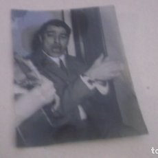 Fotografía antigua: ANTIGUO CLICHE DE FOTO AÑOS 60 , FAMOSO CANTANTE FLAMENCO . Lote 178920757