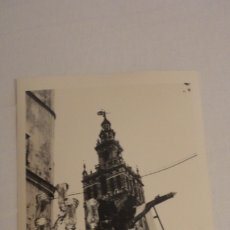 Fotografía antigua: ANTIGUA FOTOGRAFIA CRISTO PASO SEMANA SANTA SEVILLA AÑOS 60. Lote 179199582