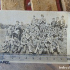 Fotografía antigua: FOTO FOTOGRAFIA DE GRUPO DE BOYS SCOUTS . Lote 179325377