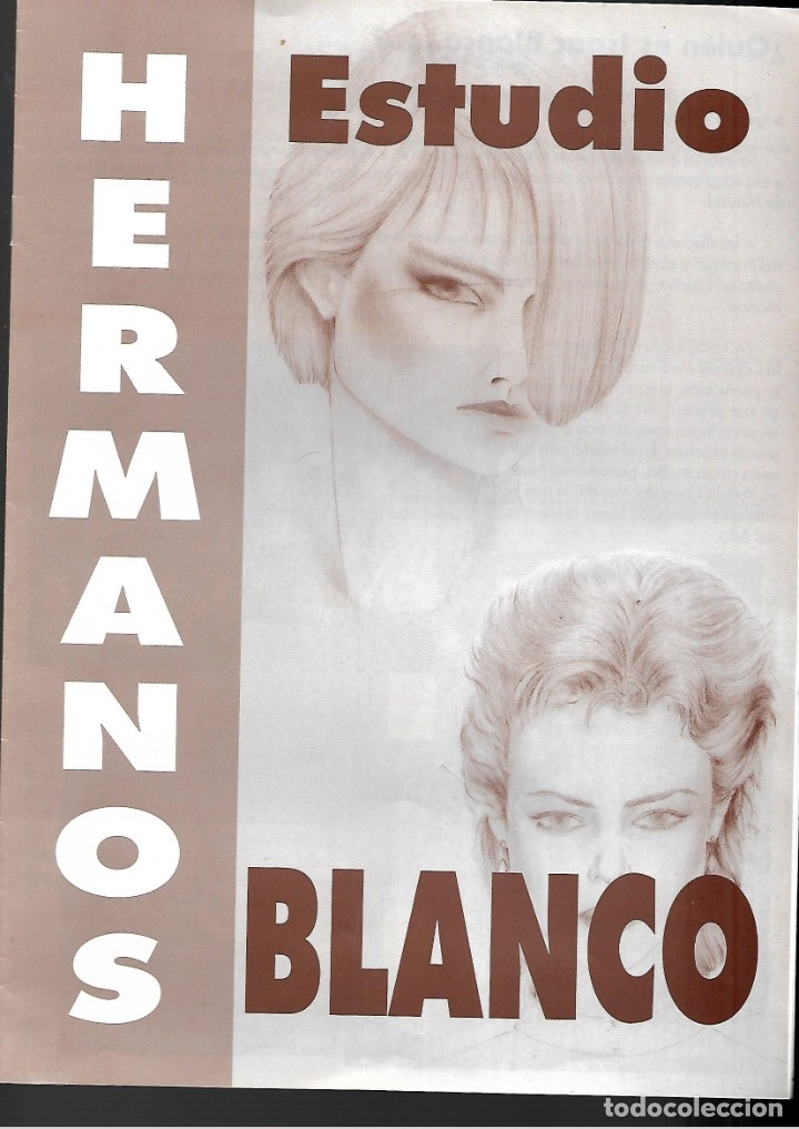 LOTE DE 61 FOTOS Y 2 FOLLETOS PROPAGANDAS ESTUDIOS HERMANOS BLANCO ISAAC BLANCO CON SUS CREACIONES (Fotografía Antigua - Fotomecánica)