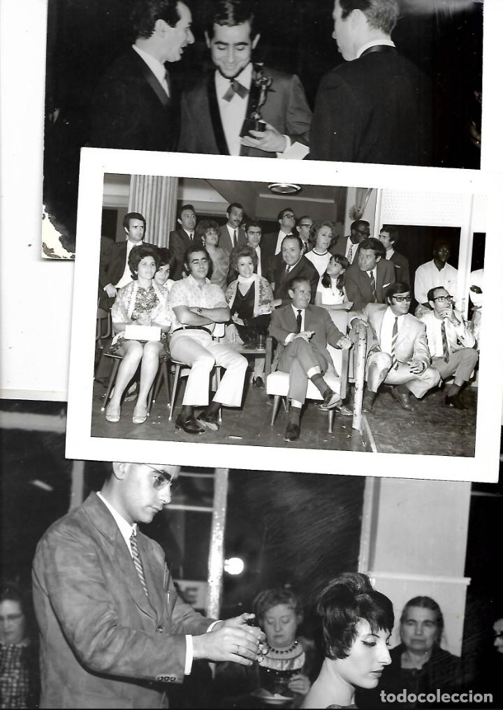 Fotografía antigua: LOTE DE 61 FOTOS Y 2 FOLLETOS PROPAGANDAS ESTUDIOS HERMANOS BLANCO ISAAC BLANCO CON SUS CREACIONES - Foto 2 - 179546152