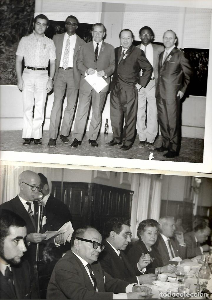 Fotografía antigua: LOTE DE 61 FOTOS Y 2 FOLLETOS PROPAGANDAS ESTUDIOS HERMANOS BLANCO ISAAC BLANCO CON SUS CREACIONES - Foto 3 - 179546152