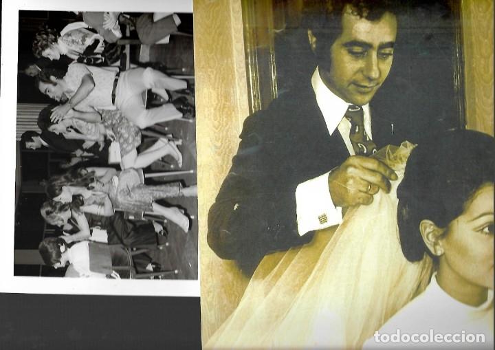 Fotografía antigua: LOTE DE 61 FOTOS Y 2 FOLLETOS PROPAGANDAS ESTUDIOS HERMANOS BLANCO ISAAC BLANCO CON SUS CREACIONES - Foto 6 - 179546152