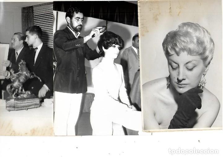 Fotografía antigua: LOTE DE 61 FOTOS Y 2 FOLLETOS PROPAGANDAS ESTUDIOS HERMANOS BLANCO ISAAC BLANCO CON SUS CREACIONES - Foto 11 - 179546152