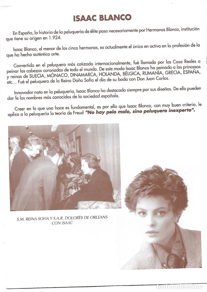 Fotografía antigua: LOTE DE 61 FOTOS Y 2 FOLLETOS PROPAGANDAS ESTUDIOS HERMANOS BLANCO ISAAC BLANCO CON SUS CREACIONES - Foto 13 - 179546152