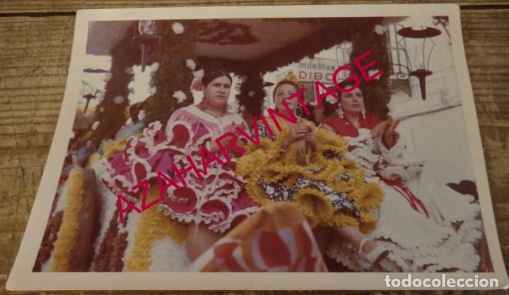 DOS HERMANAS, ANTIGUA FOTOGRAFIA ROMERIA DE VALME,175X125MM (Fotografía Antigua - Fotomecánica)