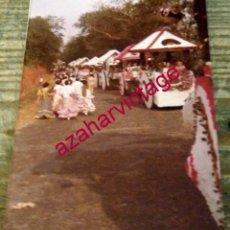 Fotografía antigua: DOS HERMANAS, ANTIGUA FOTOGRAFIA ROMERIA DE VALME,88X126MM. Lote 179946595