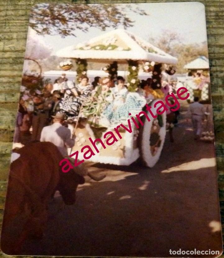 DOS HERMANAS, ANTIGUA FOTOGRAFIA ROMERIA DE VALME,88X126MM (Fotografía Antigua - Fotomecánica)