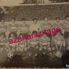 Fotografía antigua: SEVILLA, 1969, CLUB DEPORTIVO ESPERANZA DE TRIANA, 105X75MM, MUY RARA. Lote 179956865