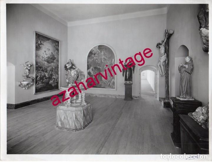 VALLADOLID, 1933, MUSEO NACIONAL DE ESCULTURA, FOT.GARAY, RARA, 230X175MM (Fotografía Antigua - Fotomecánica)